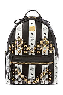 MCM Striped backpack
