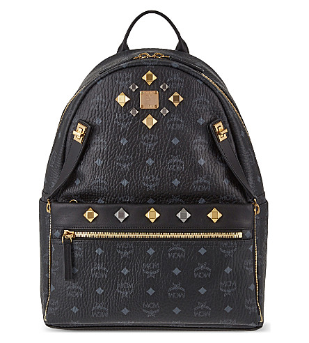 MCM Dual Stark medium backpack (Black