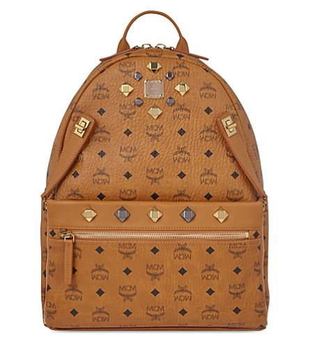 MCM Dual Stark medium backpack (Cognac