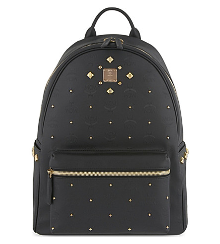 MCM Stark Odeon medium backpack (Black