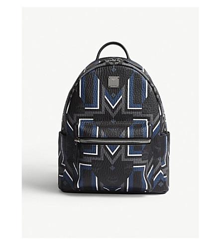 MCM Gunta M Stripe Stark backpack (Black