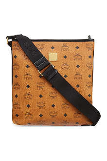 MCM Visetos small messenger bag