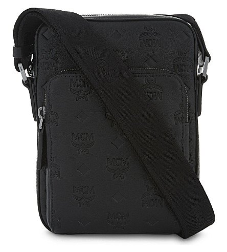 MCM Ottomar messenger bag (Black