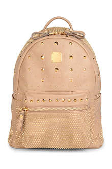 MCM Studded small backpack