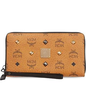 MCM Stark leather wallet