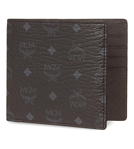 MCM Visetos trifold wallet (Black