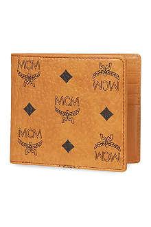MCM Heritage billfold wallet