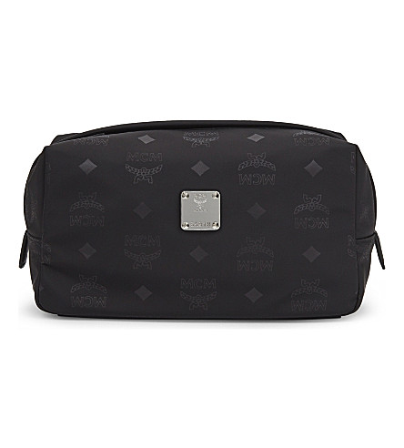 MCM Dieter wash bag (Black