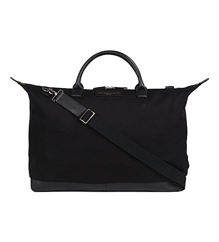 WANT LES ESSENTIELS Hartsfield weekender tote (Black