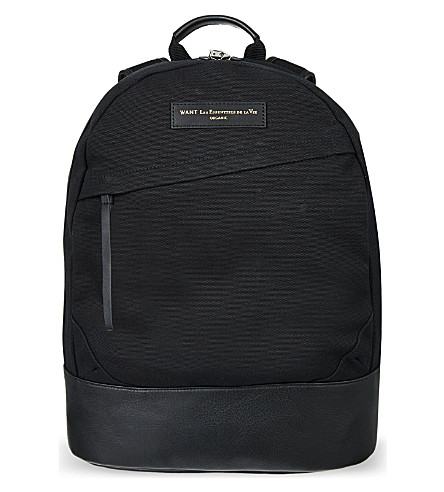WANT LES ESSENTIELS Kastrup backpack (Black