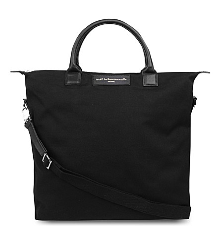 WANT LES ESSENTIELS O'hare shopper tote (Black