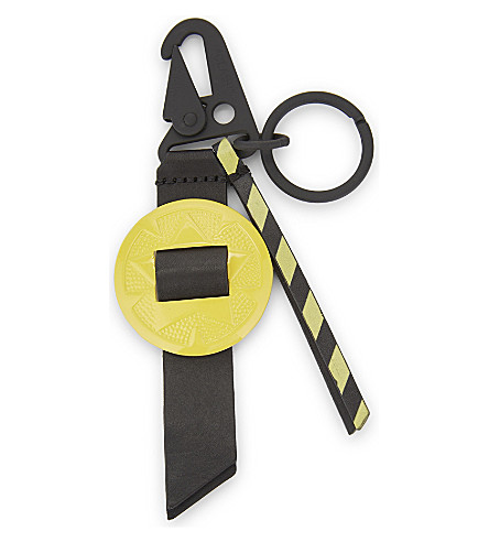 OFF-WHITE C/O VIRGIL ABLOH Western keyring (Black+yellow