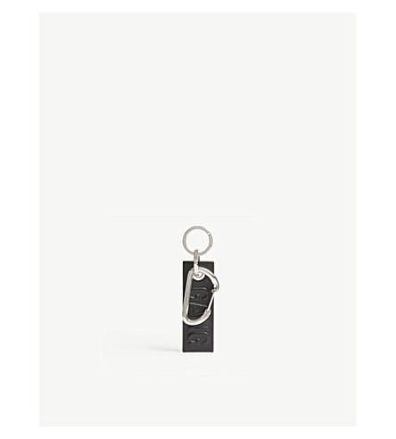 NEIL BARRETT Gang key ring (Black