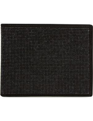 GIUSEPPE ZANOTTI Studded billfold wallet