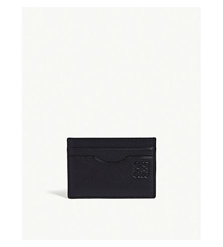 LOEWE Two-tone leather card holder