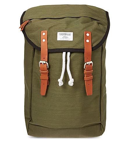 SANDQVIST Hans Cordura backpack (Green