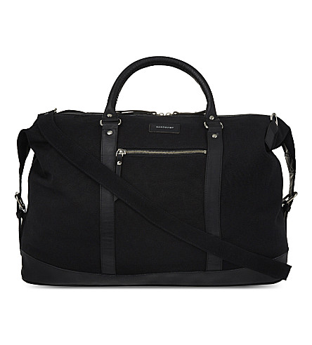 SANDQVIST Jordan weekend bag (Black
