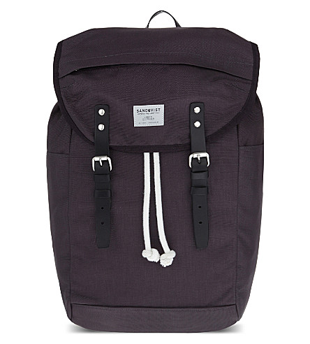 SANDQVIST Hans cordura backpack (Dark+grey