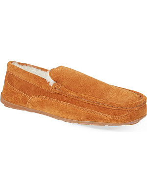 MORLANDS Sheepskin lined loafers