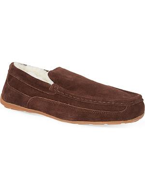 MORLANDS Sheepskin lined loafers