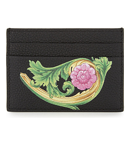VERSACE Miami card holder (Black+green