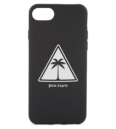 PALM ANGELS Palm icon iPhone 7 case (Black+white
