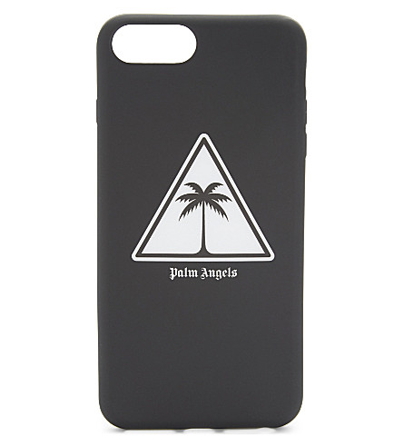 PALM ANGELS Palm iPhone 7 Plus case (Black+white