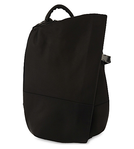 COTE & CIEL Isar Small Alias leather backpack (Black
