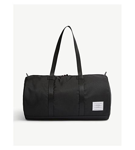THOM BROWNE Canvas Gym Bag (Black