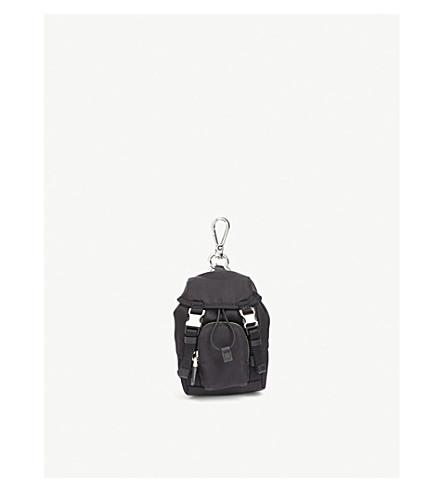 PRADA Mini nylon backpack (Black