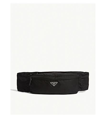 PRADA - Logo nylon belt bag   Selfridges.com 5f952d1aa3