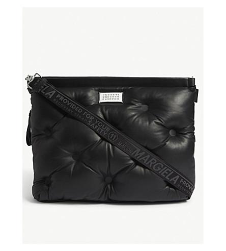 MAISON MARGIELA Quilted leather shoulder bag