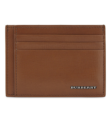 BURBERRY Bernie leather card holder (21600
