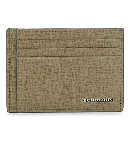 BURBERRY Bernie leather card holder (36400