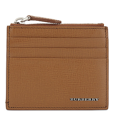 BURBERRY Logan leather card holder (21600