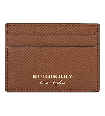 BURBERRY Sandon leather card holder (21600