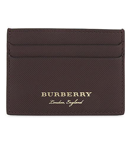 BURBERRY Sandon leather card holder (50890