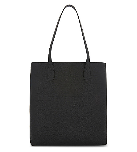 BURBERRY Remington leather tote (Black
