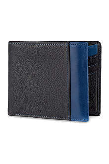 SIMON CARTER Colour strip leather wallet