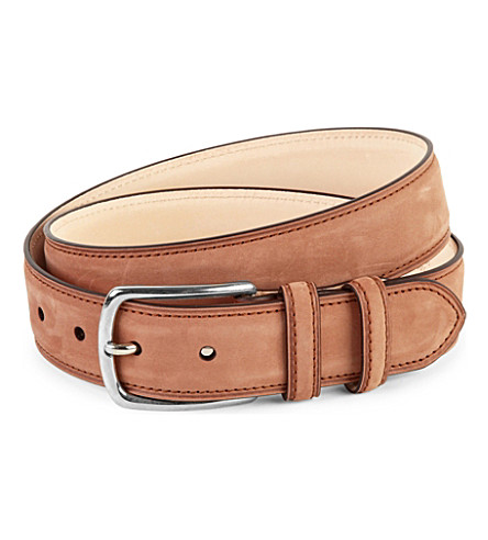 DUCHAMP Colorido leather belt (Brown