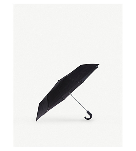 FULTON Automatic crook umbrella (Black