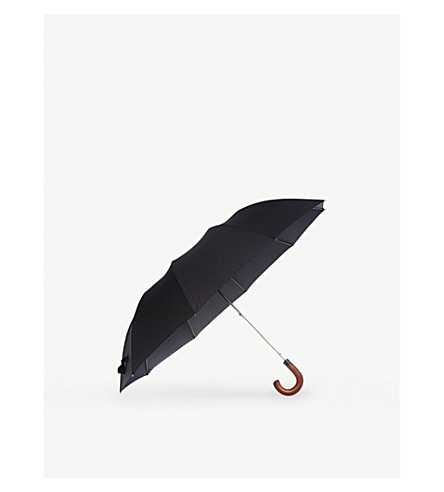 Magnum wooden handle umbrella