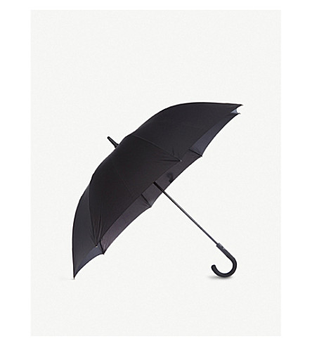 FULTON Knightsbridge crook handle umbrella (Black