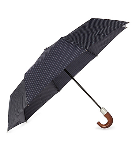 FULTON Wooden handle umbrella (Blue