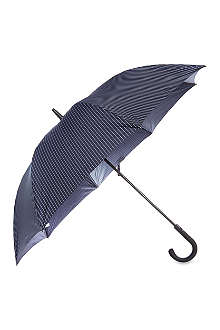 FULTON Pinstriped blue umbrella