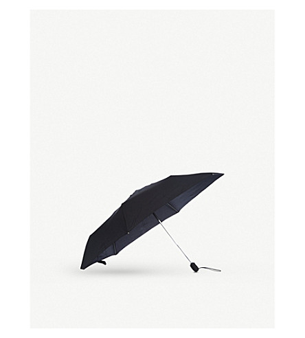FULTON Slim open and close umbrella (Black