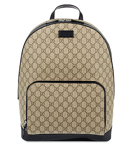 GUCCI Supreme backpack (Tan