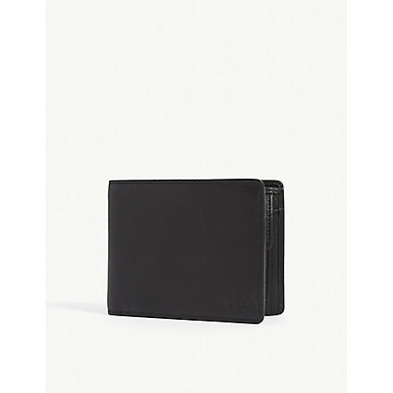 HUGO BOSS Asolo leather wallet (Black
