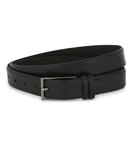 BOSS Carmello-b leather belt (Black