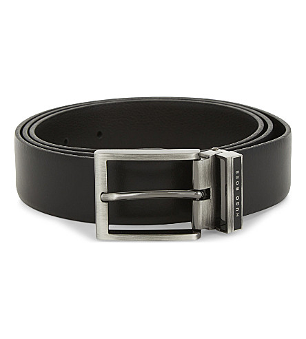 BOSS Gerone leather belt (Black